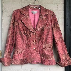 Kay Unger silk blend blazer